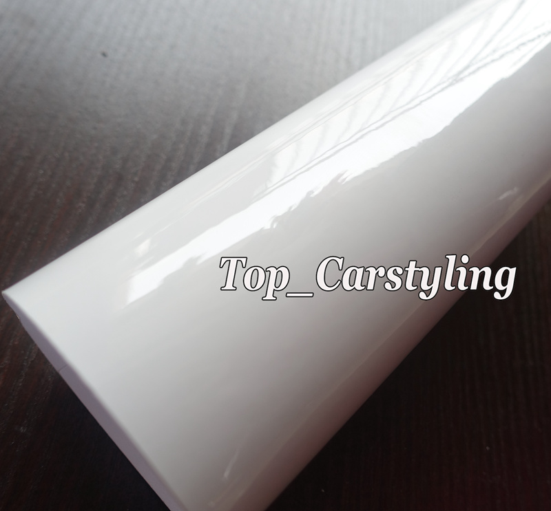 Printable white Gloss Vinyl Gas Tank Car stickers Paintable With Air Bubble Free Use for Car WRrap / truck wrap 1.52x30m