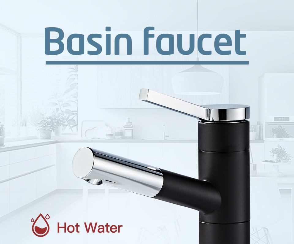 HTB1I PKVW6qK1RjSZFmq6x0PFXaw - FRAP Basin Faucet Pull Out Bathroom Sink Faucet Single Handle Waterfall Bathroom faucet