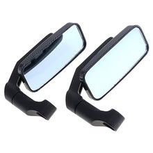 2pcs Universal Modified Serpentine Motorcycle Rearview Mirror Side Mirrors Handlebar Bike Motorbike Car Accessories