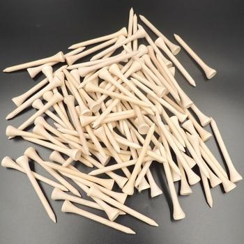 100tk / pakk 4,2cm / 5,4cm / 7,0cm / 8,3cm puidust golfiteesid kõrge kvaliteediga