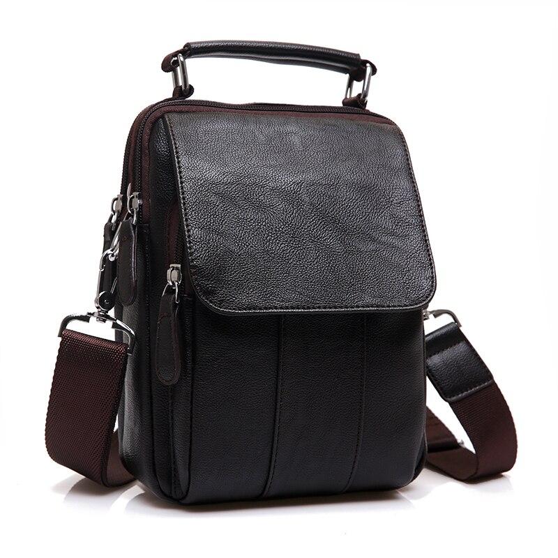 Novi brand Koža Muškarci torbe na rame Moda Hot Muška torbu Mali - Torbe - Foto 2
