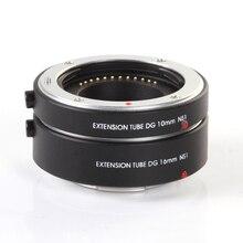 Переходное кольцо для объективов FOTGA Удлинительное макрокольцо для автоматического 10 мм + 16 Набор для Nikon 1 крепление J1 J2 J3 V1 Cam