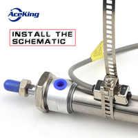 MA/MAL zylinder edelstahl binding band magnetische schalter halterung sc1-u feste teile zubehör bindung band