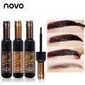 NOVO Professional Peel Off Eyebrow Gel Kit Long-lastinng Waterproof  Natural Brow Gel Tint Makeup Wenkbrauw Gel For Sourcils Gel