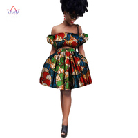 Pretty Women Suits New Fashion African Printed Wax 2 Piece Set Women Crop Top And Skirt