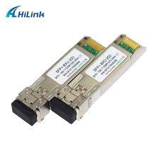 Бесплатная доставка! Сильная Совместимость Mini GBIC 20km/40km/60km 10G WDM BIDI SFP 1270 нм/1330 нм DOM LC коннектор
