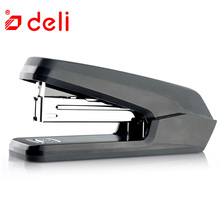 Deli Book Manual Stapler Student Stationery 2 Colors Staplers Office Gadgets Paper Binding Paper Booking Machine School Supplies