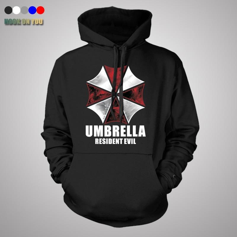 spring autum thin sweatshirt Resident Evil Hoodies Umbrella Sweatshirts Coats