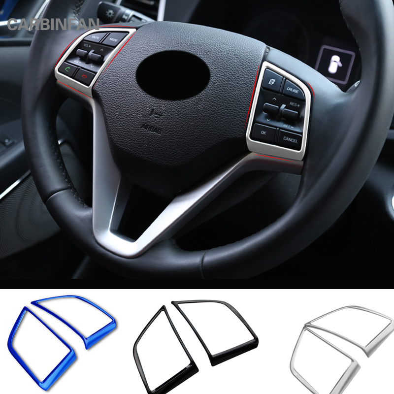 Stainless steel steering wheel Cover trims for 2017 2018 Honda CRV Accessories