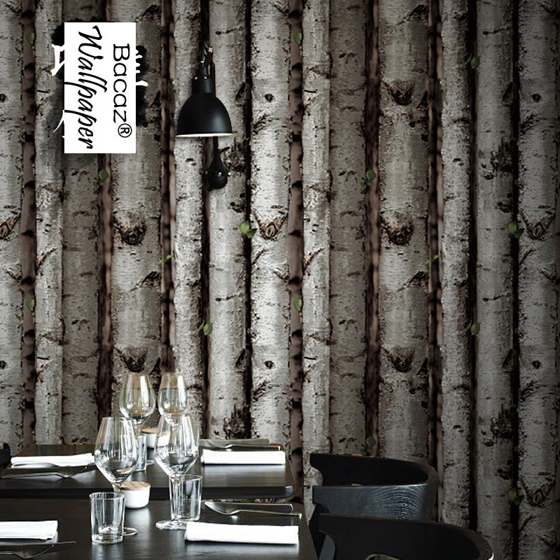 Bark Trees 3d Wood wallpaper Rolls for Coffee Bar Background Bedroom 3d Wall Panels 3d Wall paper 3d Wallcoverings bacaz small dots cartoon wallpaper roll for child kids room background wall paper rolls 3d wallcoverings