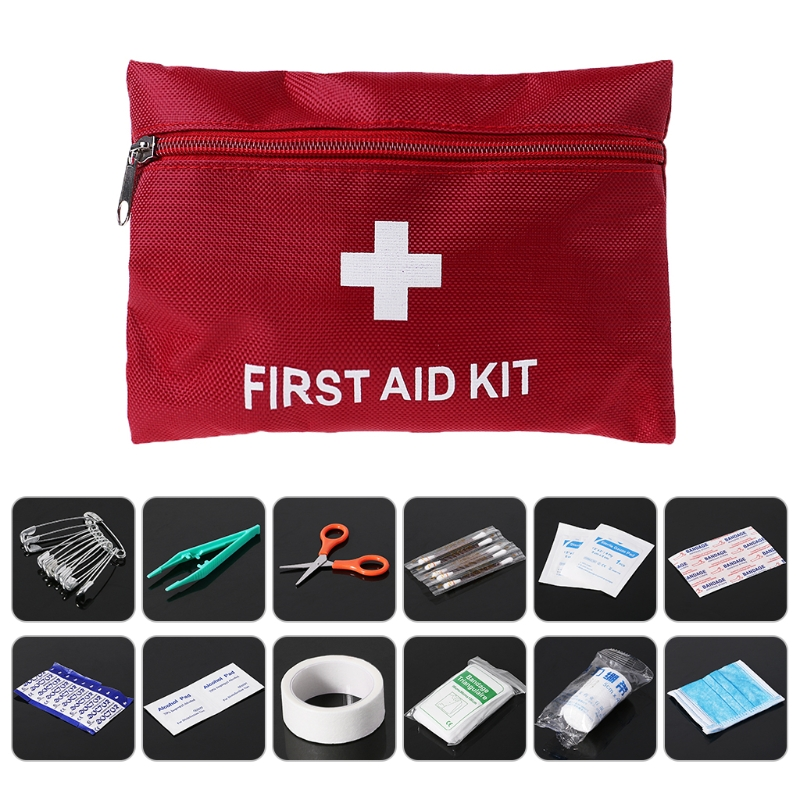 Back To Search Resultssports & Entertainment First Aid Kit Pouch Emergency Treatment Rescue Survival Bags Outdoor Accessories Attractive Fashion Camping & Hiking
