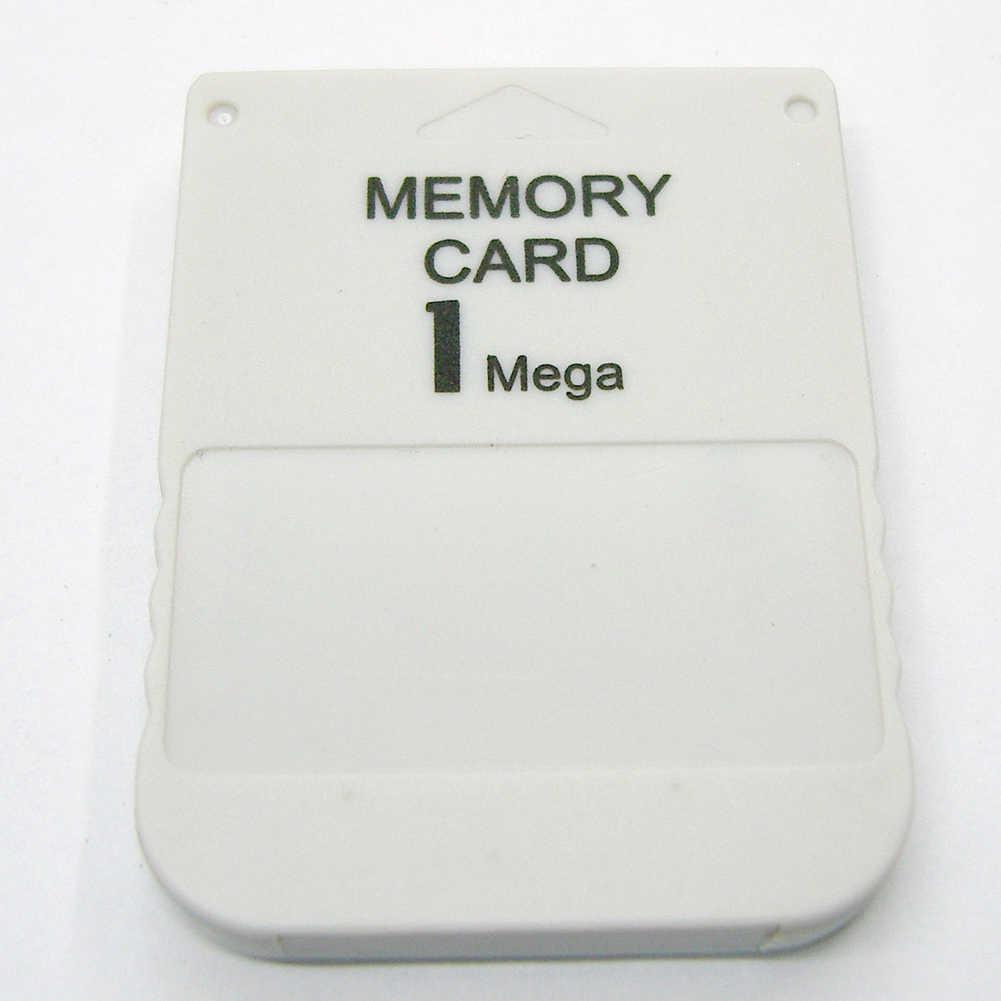 1MB 게임 모듈 전문 어댑터 스토리지 내구성 플러그 데이터 저장 PS1 용 미니 고속 메모리 카드