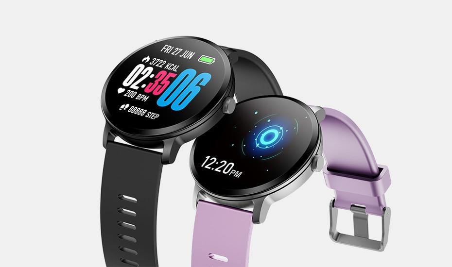 COLMI V11 Smart watch IP67 waterproof Tempered glass Activity Fitness tracker Heart rate monitor BRIM Men women smartwatch 1