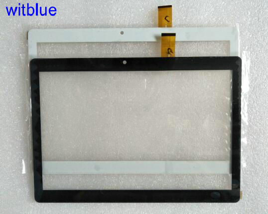 купить Witblue New For  10.1 DEXP Ursus N110 3G Tablet touch screen panel Digitizer Glass Sensor replacement Free Shipping дешево