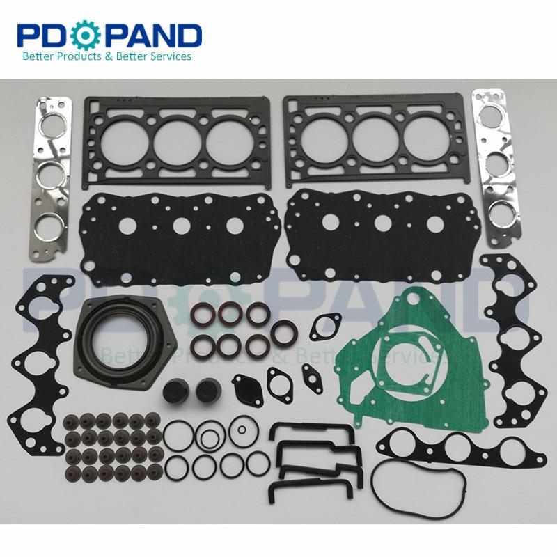 25K4F KV6 Engine Overhaul Gasket Kit For Land Rover Freelander/Rover 75 Saloon/Tourer/MG ZS Hatchback/ZT Saloon 2.5 V6