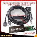 Кабель и разъем OBD2 для автомобиля C3  кабель RS232 в RS485 для MB STAR C3  мультиплексный кабель для диагностических инструментов в автомобиле  кабель ...