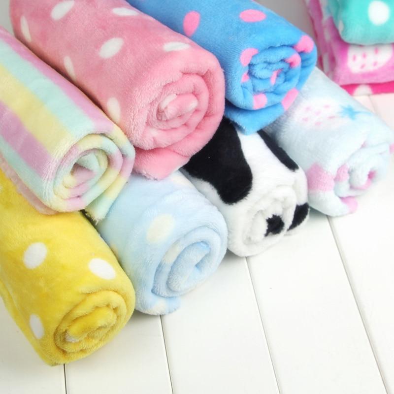 Free Shipping DIY Crafts Polar Fleece Anti Pill Fabric Premium Quality Soft Multi Polka Dots Fabric 160cm Wide