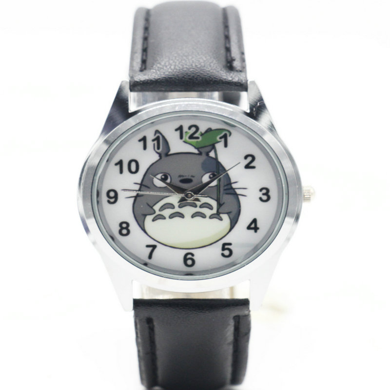 Girls Clock Watch Totoro Strap Feminine Fashion Women Relogio High-Quality title=