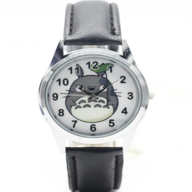 Fashion Totoro kids Wristwatch High Quality Leather Strap Women Watch 2017 Hot G