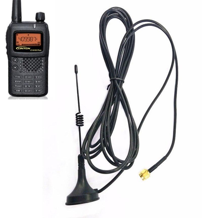 MINI Dual Band SMA-M UHF Car Antenna Magnetic Base For Yaesu CB Radio VX-3R VX-5R VX-6R VX-7R VX-8R VX-150 VX-160radios J47