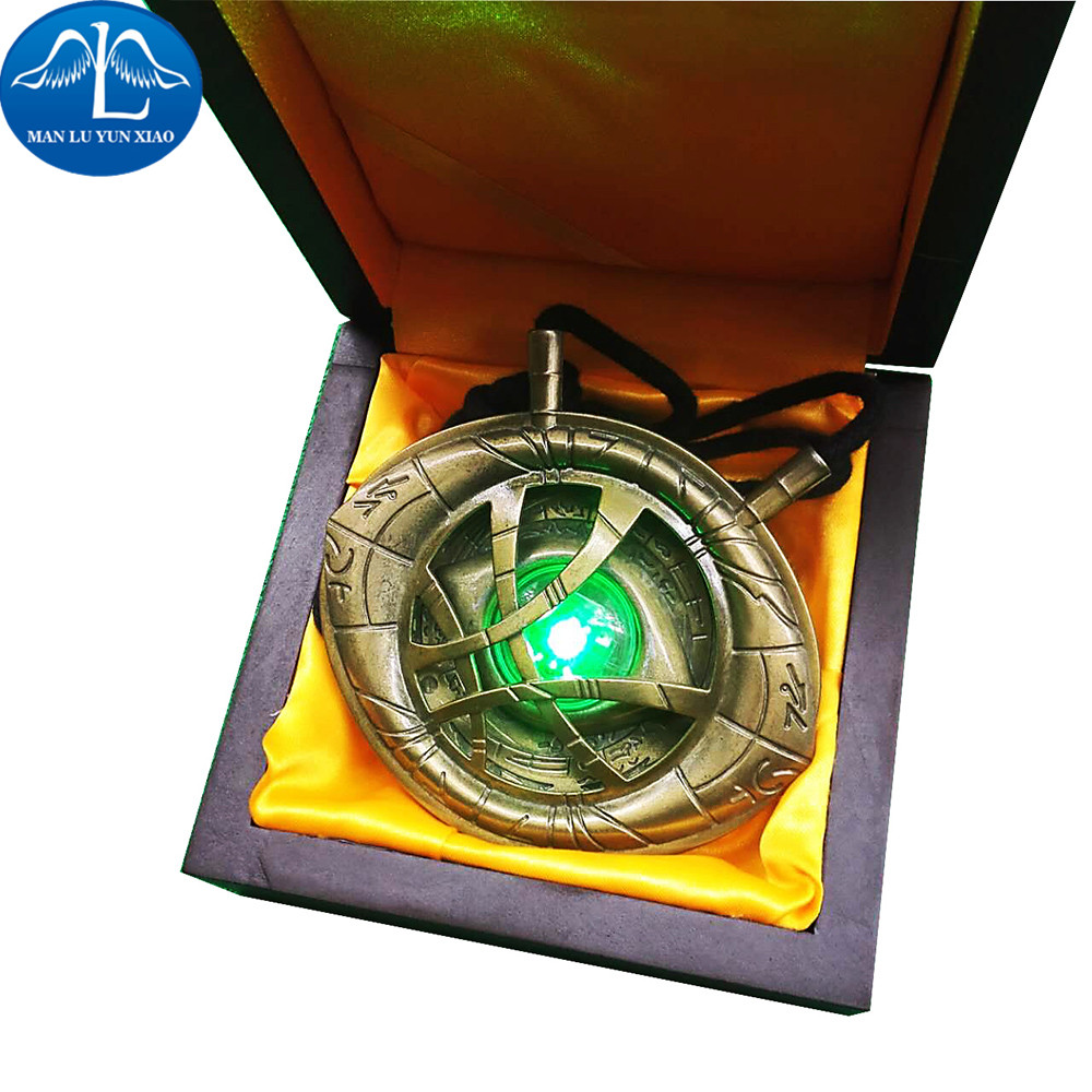 MANLUYUNXIAO New Arrival The Doctor Strange Cosplay Necklace Halloween Carnival Cosplay For Men