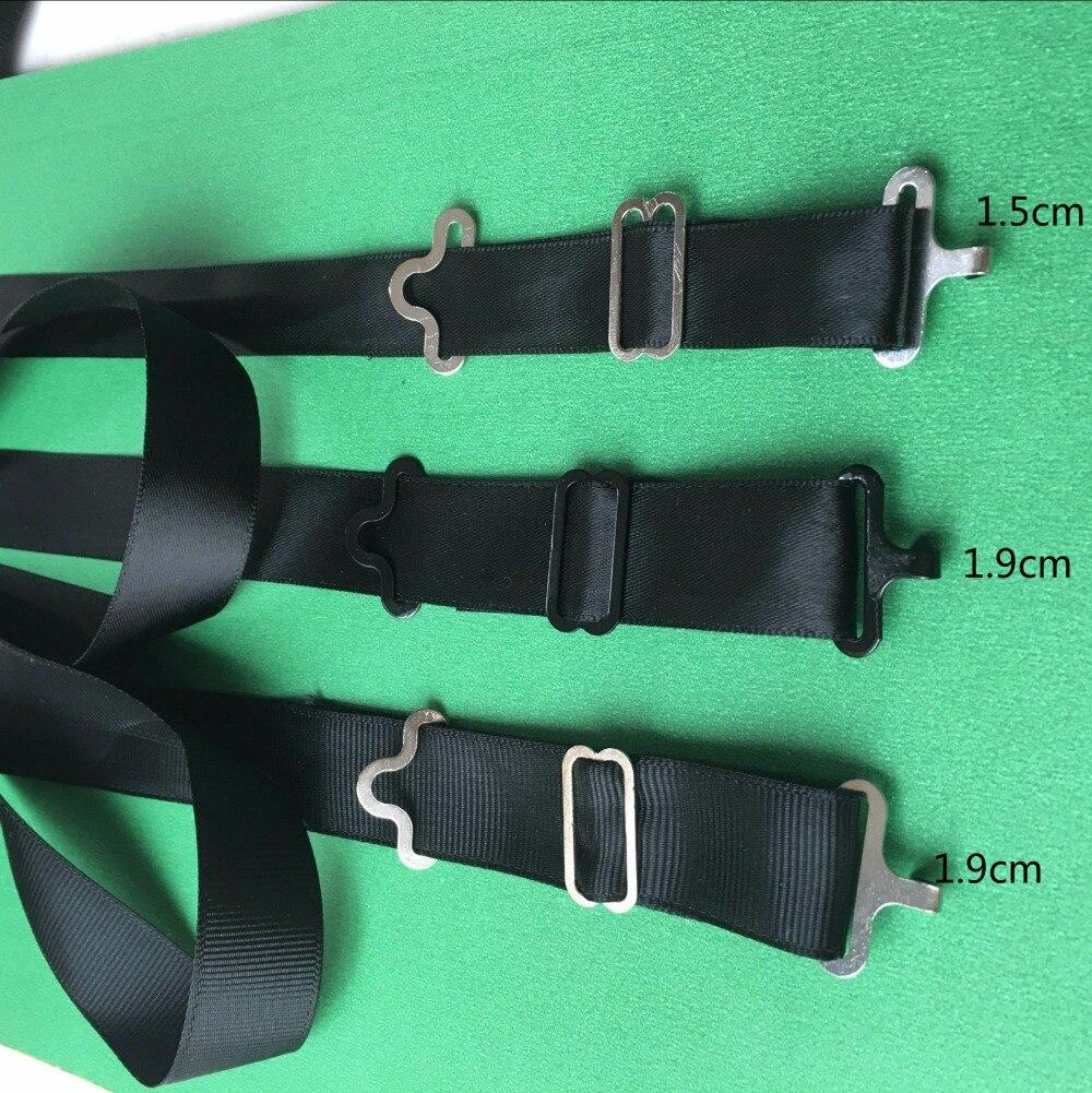 1000 CONJUNTO de PRATA gravata borboleta Fivelas tie clip Acessórios de Vestuário Fivela ajustável Bow Tie ganchos hardware