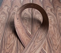 Length 2 5Meters Pcs Thickness 0 52mm Width 15cm Natural Rosewood Branches Veneer Furniture Cabinet Sticker