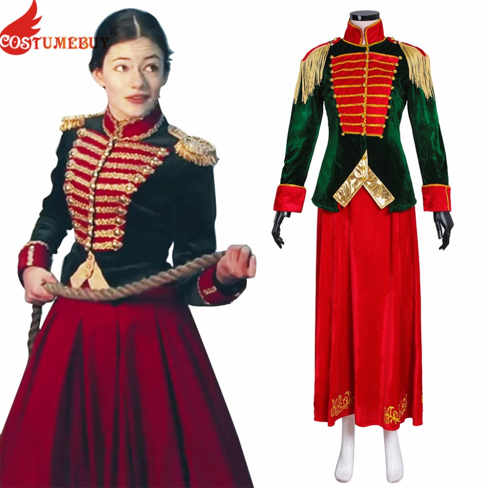 Costumebuy Movie The Nutcracker And The Four Realms Clara Cosplay Costume Women Halloween Carnival Princess Dress Custom Made