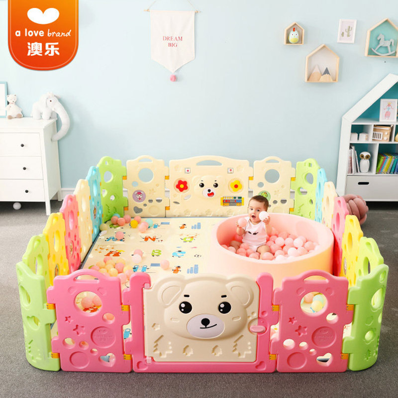 Australian Children's Baby Play Fence Baby Crawling Mat Toddler Guardrail Safety Fence Home Indoor Playground