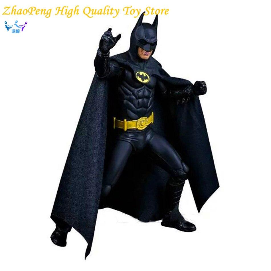 Movie 1989 Michael Keaton come Batman 25th Anniversary Pvc Wiht Arms Action Figure Toys 17cm Children gift FB145