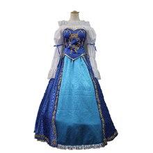Sleeping Beauty Princess Aurora Dress Costume Christmas Halloween Dress Aurora Dress Party Cosplay Costume Custom Made