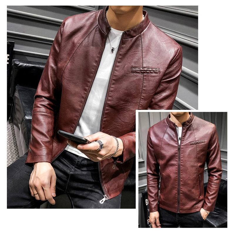 Cuir Dropshipping Épais Marque 2018 py602red py603black Moto Manteaux En Hommes Chaud 708 Vestes Veste De py603blue py603coffee Py602black py602coffee Manteau py603yellow Hiver Chaqueta Mode Nouvelle Homme py603red x06IwITq