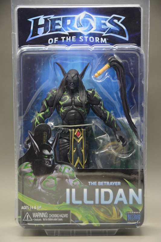 Game Heroes Of The Storm The Betrayer Illidan Stormrage 15cm Cartoon Toy PVC Figure Model Gift Free Shipping GS006