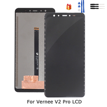 Original For VERNEE V2 PRO LCD Display Touch Screen Digitizer Assembly Repair Parts For VERNEE V2 PRO LCD Display Screen lmg7401plbc 5 7 inch lcd screen display panel for hmi repair parts new