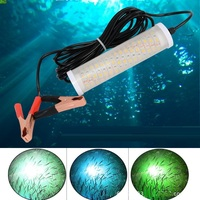 LED Fishing Lures Fish Lamp Lure Underwater Submersible Fishing Light Lamps Waterproof For Night Light Artificial Baits
