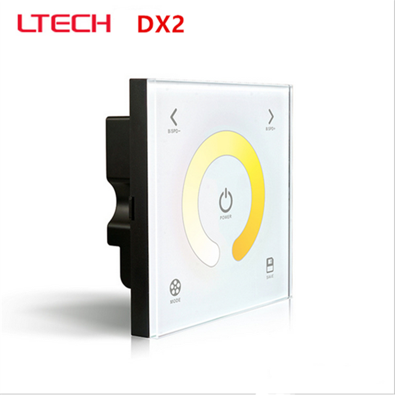 LTECH DX2 color temperature touch panel led controller,AC100-240V input,RF 2.4G+DMX512 output signal for R4-5A R4-CC Wireless защитные стекла и пленки interstep is sf 7uhtc0ctr 000b201