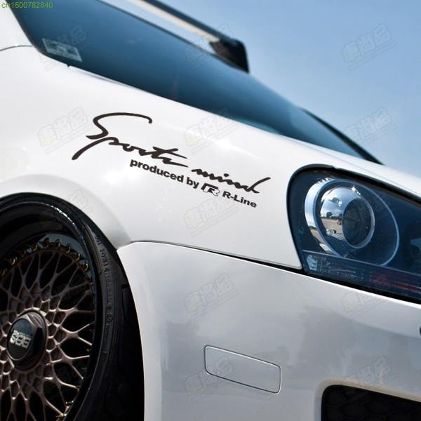 Sport Mindracing Design Car Lamp Eyes Refit Sticker For Vw