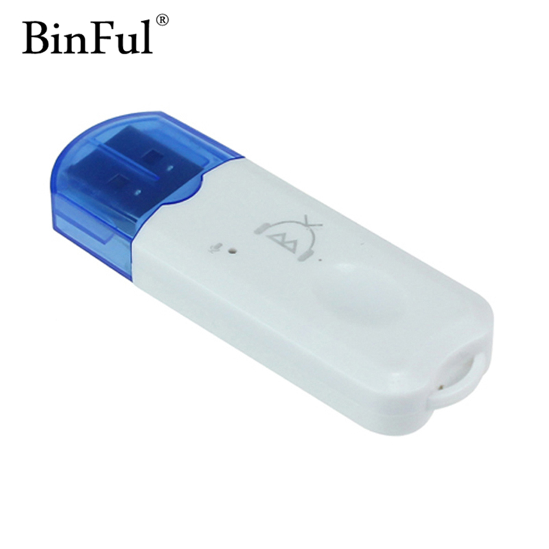 Binful Professional USB Bluetooth Stereo Audio Music Wireless Receiver Adapter for Car Home Speaker Support Handsfree FunctionBinful Professional USB Bluetooth Stereo Audio Music Wireless Receiver Adapter for Car Home Speaker Support Handsfree Function