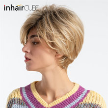 INHAIR CUBE 8 Inches Women Wigs Ombre Sy