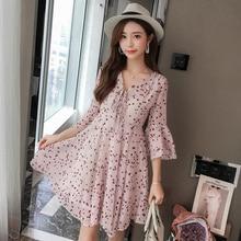 2019 New Summer Women dress Print Slim Bali Fairy Brief Paragraph Seaside Holiday Than Thailand Dresses 266