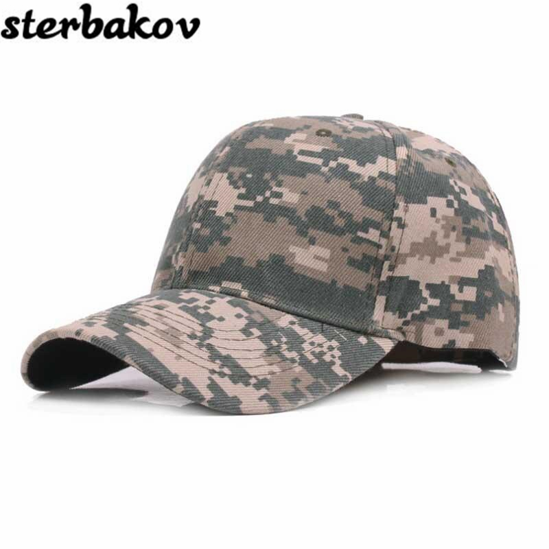 2017 sterbakov unisex camouflage baseball cap swag cap Casual Outdoor snapback Hat for men Cap women gorra casquette Wholesale high quality unisex camouflage baseball cap swag cap casual outdoor sport snapback hat for men cotton cap women gorra casquette