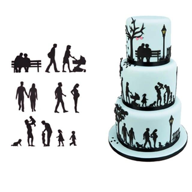 Super Online Shop Fitness Man Walking Design Fondant Cake Cookie Cutter Funny Birthday Cards Online Hendilapandamsfinfo