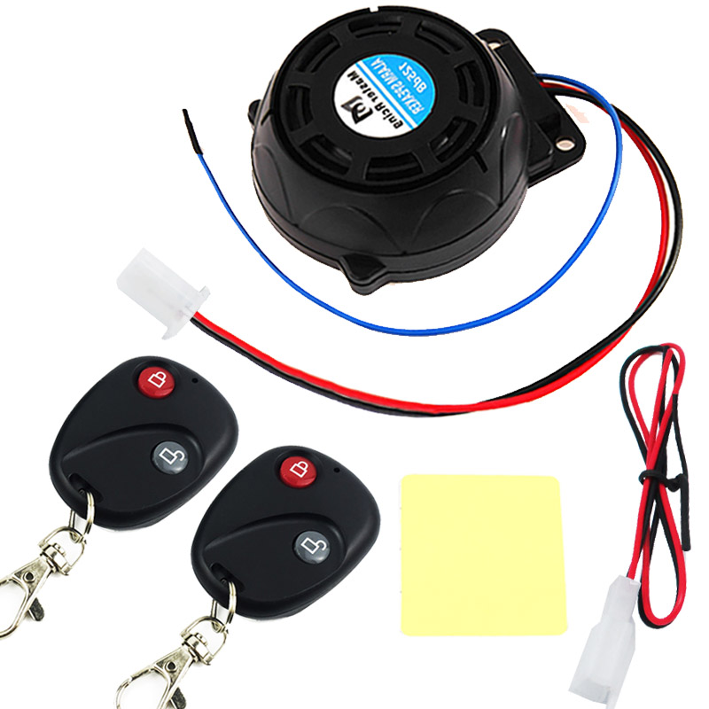 Universal Motorcycle Bike Burglar Alarm Scooter Moto Anti