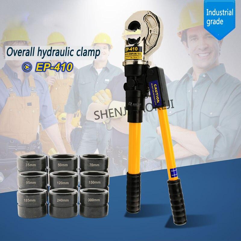 Pince hydraulique intégrale conception à deux vitesses pince à sertir semi automatique pince à sertir fil pince à sertir EP 410/430/510 1 pc - 3
