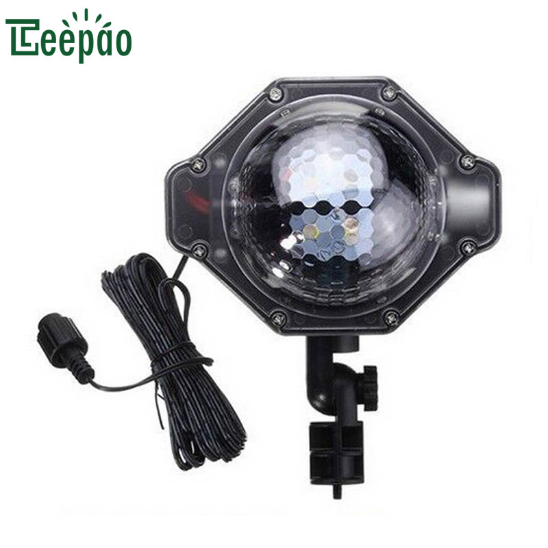 Christmas Snowflake Projector Lights Scene Effect Stage Light Outdoor LED Waterproof Projection Lamp for Home Indoor Decoration christmas lights holiday led projector outdoor rotating projection snowflake led lights projection lamp christmas decoration