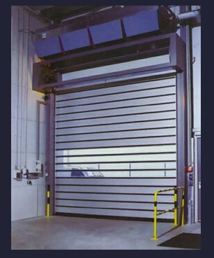 High-Speed Door With Hard Metal, Rapid Door, Factory/market High Speed Rolling Door