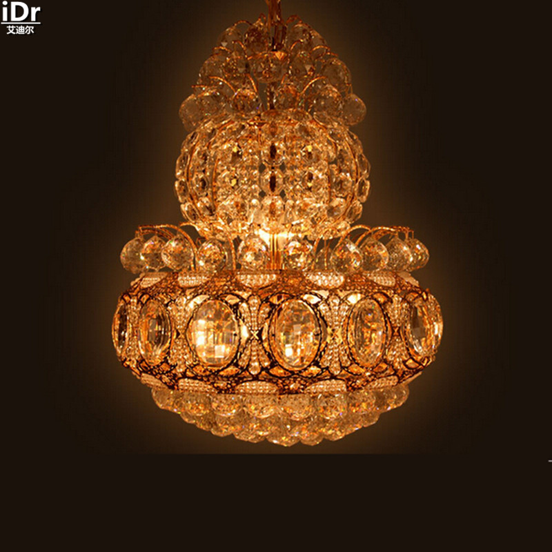 Gold Supply Wholesale Stairs Bedroom Living Room Lamp Home Lighting Decoration Lamp Hotel Chandeliers Lmy  In Chandeliers From Lights Lighting On