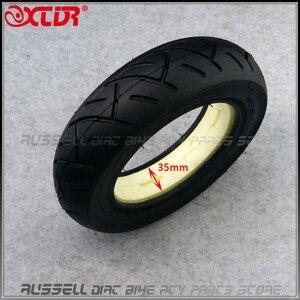 Image 2 - 10x2.50 solid tire tubeless for Quick 3 ZERO 10X Inokim OX Folding Electric Scooter 10 inch Mini Motorrad Razor