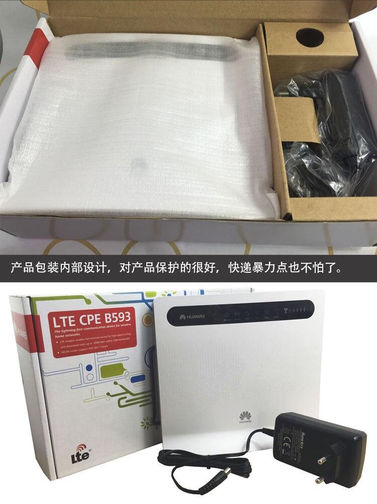 Huawei B593s-516(better Huawei B890-66) LTE FDD Band2/4/5/7/8(850/900/1900/AWS/2600 ) UMTS 850/900/1900/AWS Wireless CPE Router
