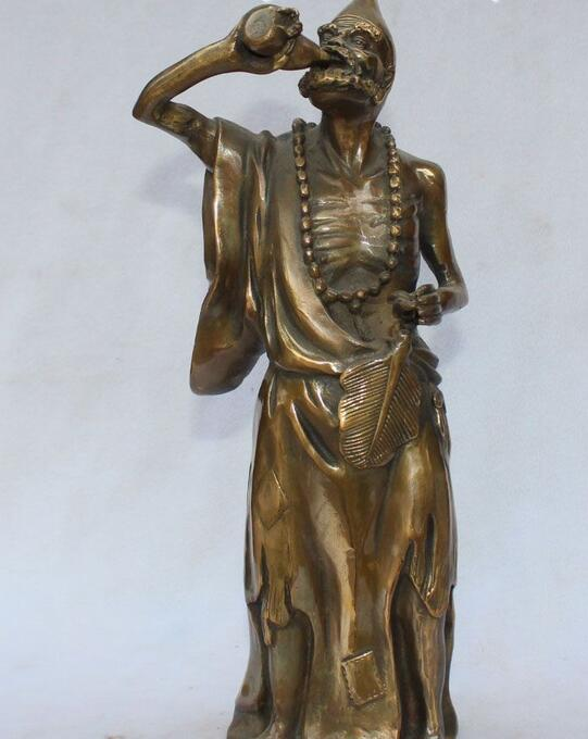 Dettagli su Chinese Folk Tradizionale Cultura Bronzo Stand Arhat Ji Gong Immortale StatuaDettagli su Chinese Folk Tradizionale Cultura Bronzo Stand Arhat Ji Gong Immortale Statua